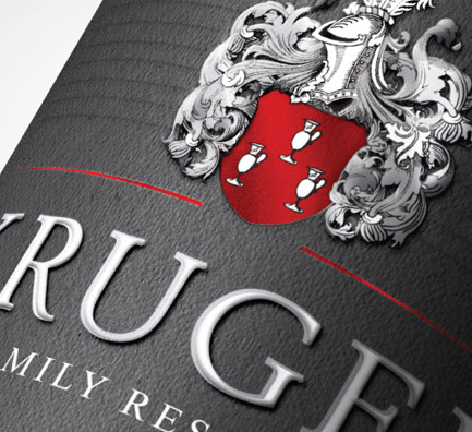 Kruger Family Reserve KFR Label design by Wanted Design from hellowanted.com